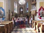 Koncert ZUŠ Rychvald v kostele