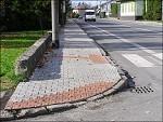 Oprava chodníků