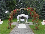Svatba v parku
