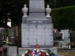 Pietní akt u pomníku