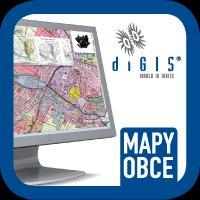 Mapa obce Dětmarovice DIGIS