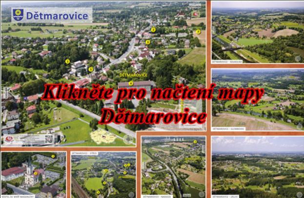 Mapa Dětmarovice
